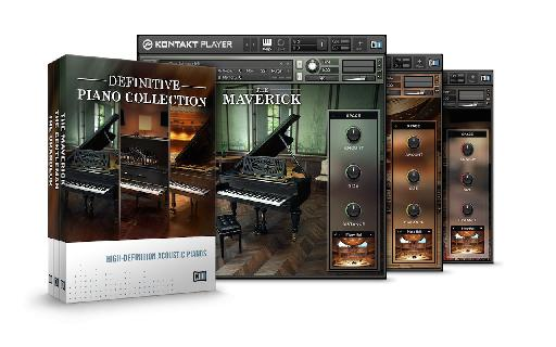 The new Definitive Piano collection is available in both bundles.