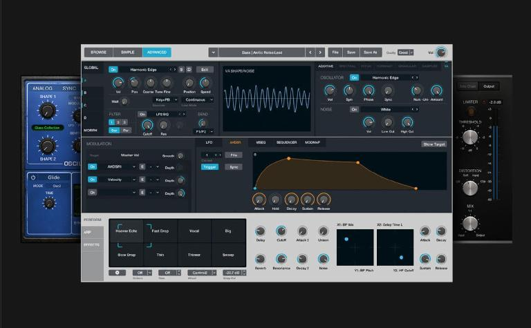 image: The Alchemy sample manipulation synthesizer is a huge addition to Logic Pro X 10.2