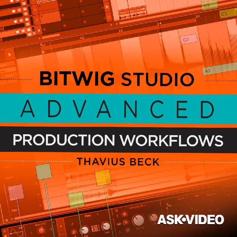 Bitwig Studio Advanced Workflows cover