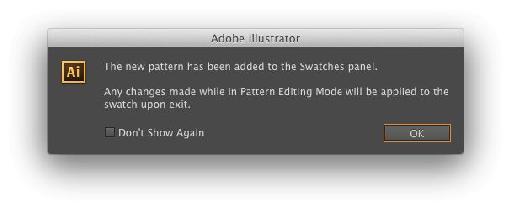 Object > Pattern > Make dialog