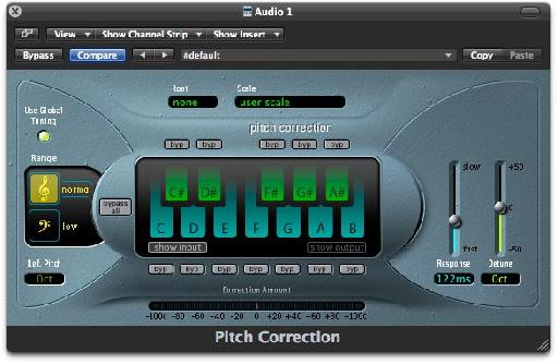 Click all notes '˜Off' in the plug-in before playing them with your MIDI keyboard.