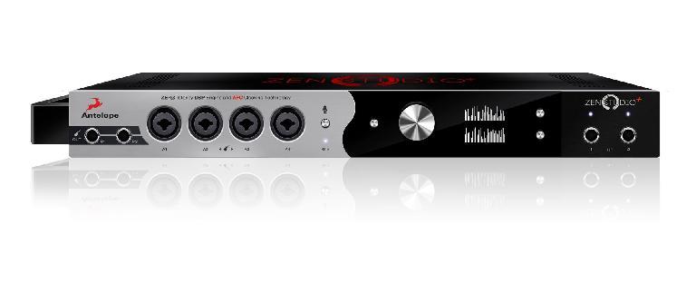 Antelope Audio Zen Studio+ front.