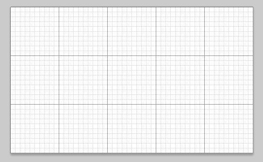 A grid line every 10px