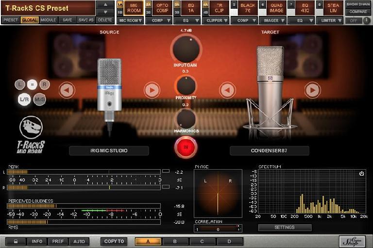 T-RackS Mic Room screenshot
