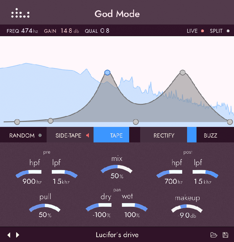 God Mode plug-in