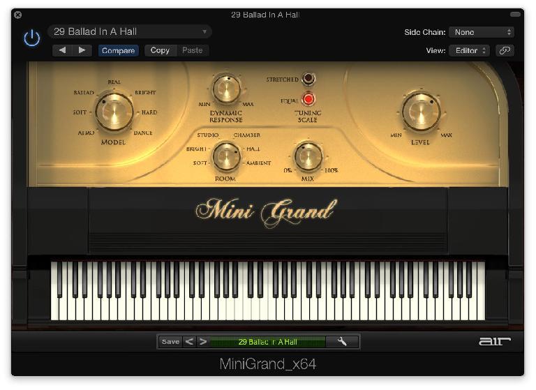 Air Music Technology's Mini Grand