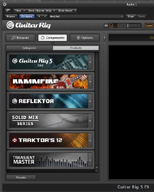 The Products tab with the Solid Mix Series showing