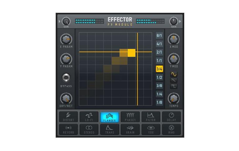 Effector FX module in Deckadance 2.5