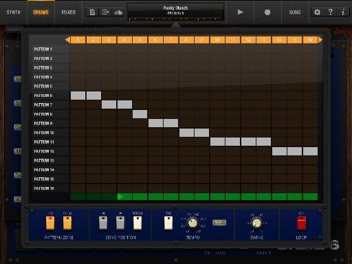 Pic 7 - Song Layout Window
