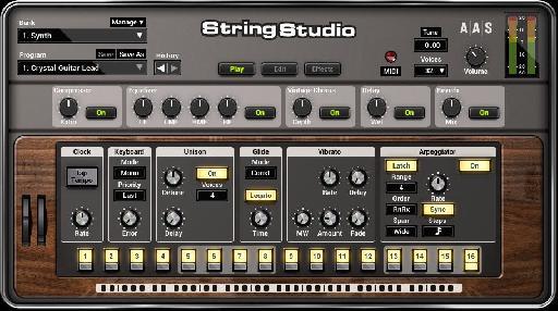 AAS String Studio V2