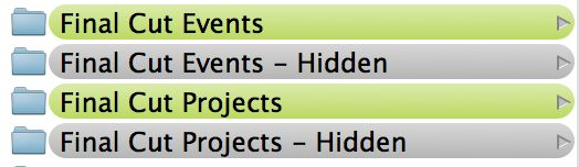 Keep your current projects active, but hide older projects and events.