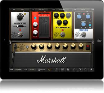 AmpliTube Slash appeals to iPad users too.