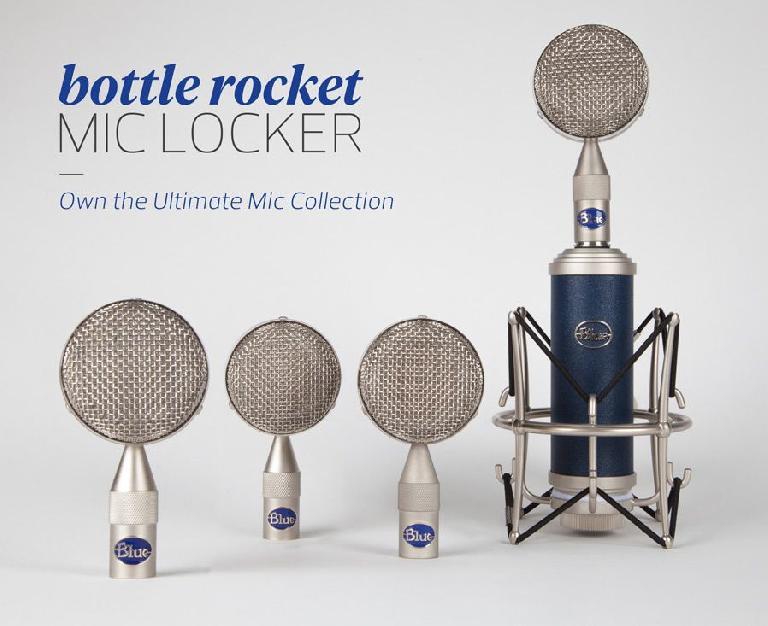 Blue Bottle Rocket Mic Locker