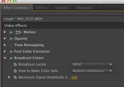 Broadcast Colors