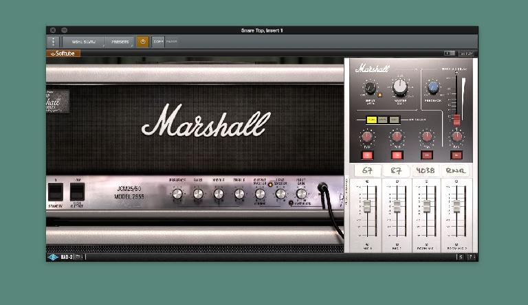 Marshall Bluesbreaker and Silver Jubilee Amplifiers