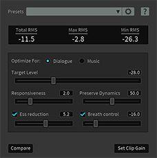 iZotope RX5 Audio Editor Leveler