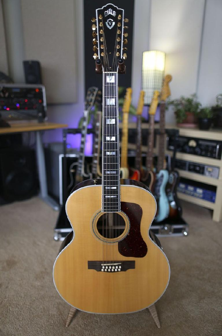12-string Guild guitar