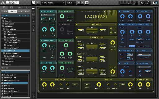 If you can't get interesting sounds out of Reaktor you're in the wrong business!