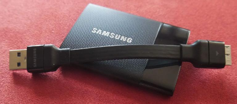 The Samsung T1 might have been superseded by the T3, but it's still great
