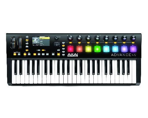 Second up is The Akai Pro Advance 49.