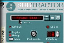 Attack Bass patch
