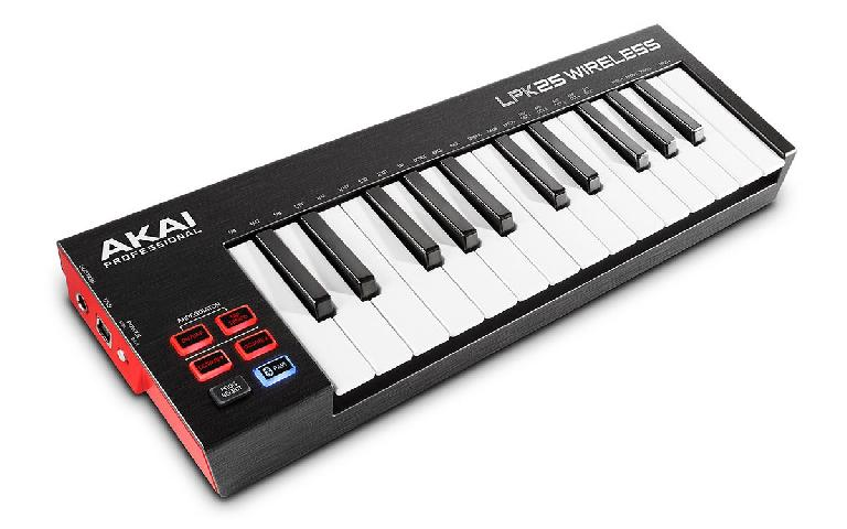 Akai Pro LPK25 Wireless MIDI keyboard Controller.