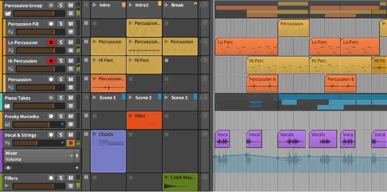 group tracks