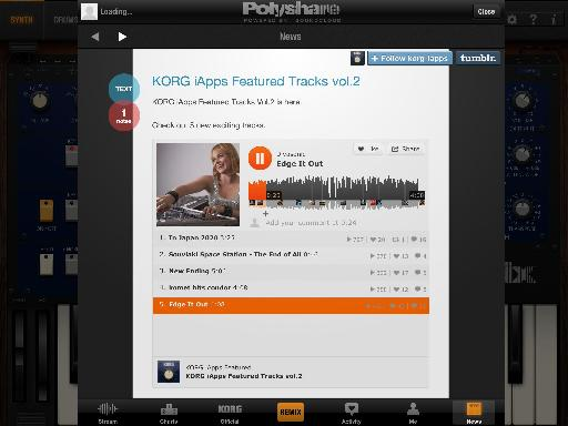 Pic 10 - Korg iApps Featured Tracks Vol. 2