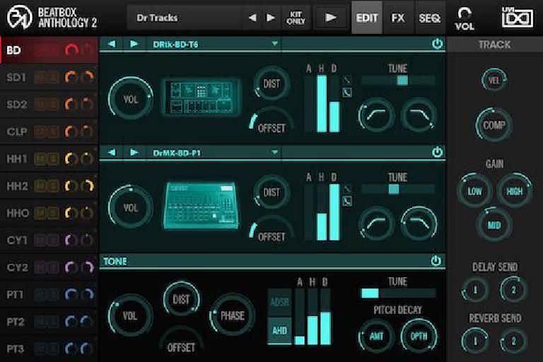 BeatBox Anthology 2 GUI 1