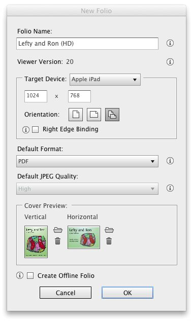 Choose PDF if you want to painlessly support iPads with Retina displays and allow zooming.