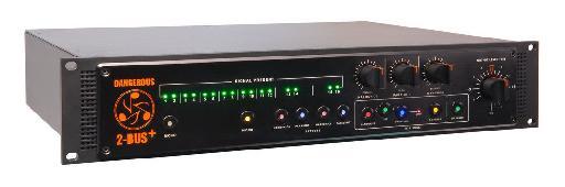 Dangerous Music 2-BUS+ analog summing mixer.