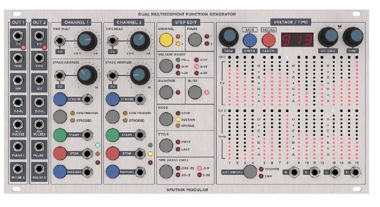Dual MultiSegment Function Generator