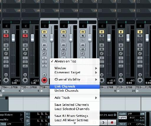 Linking without routing outputs to a single audio channel can be useful