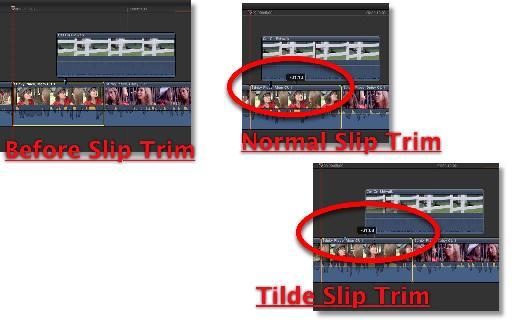 Normal/Tilde slip trim.