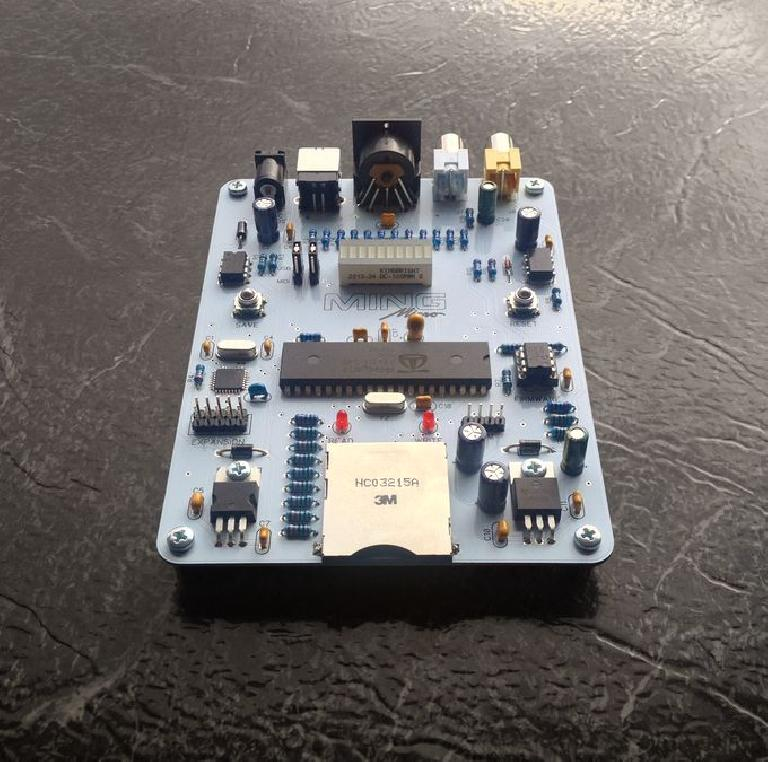 Ming Micro can be ordered as a DIY kit or fully assembled.