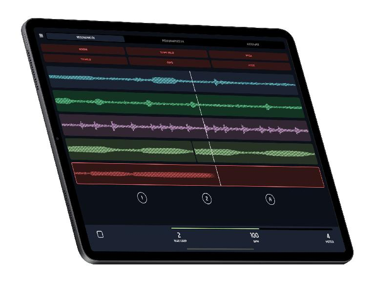 L7 Looper on iPad Pro