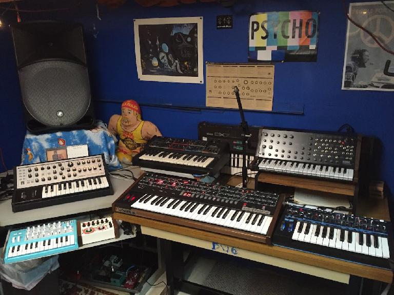 The synths that made it onto 80s VHS Synths Live Pack.