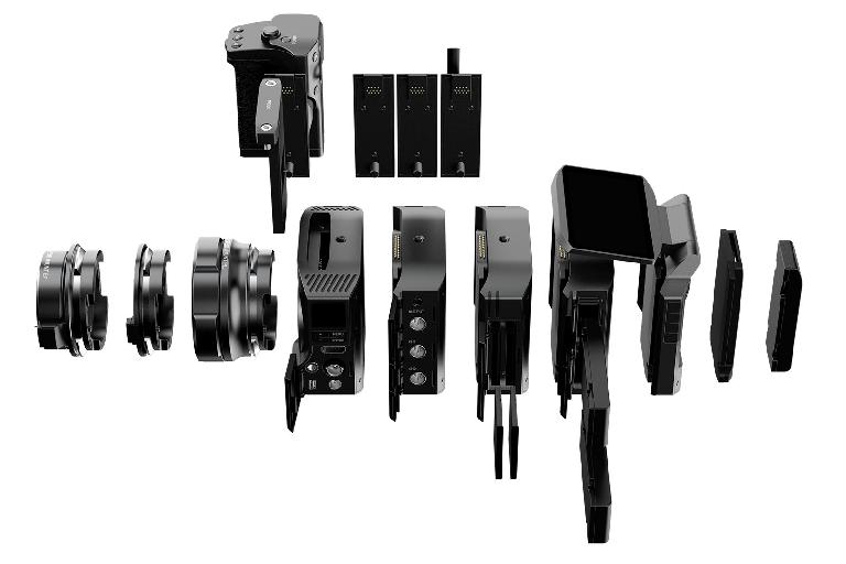 All the different parts of the Craft Camera—pick and choose