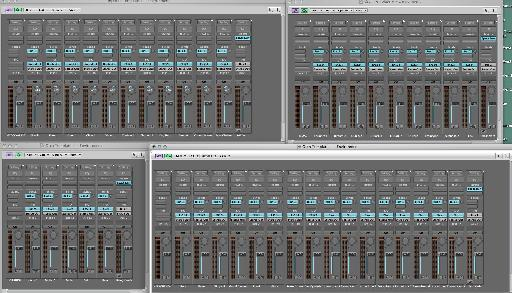 Fig 8. The final custom mixer layout