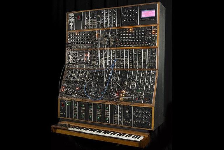 Emerson Moog Modular System.
