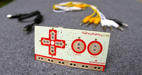 Wanna record your next hit by pressing bananas? Makey Makey is made for you!