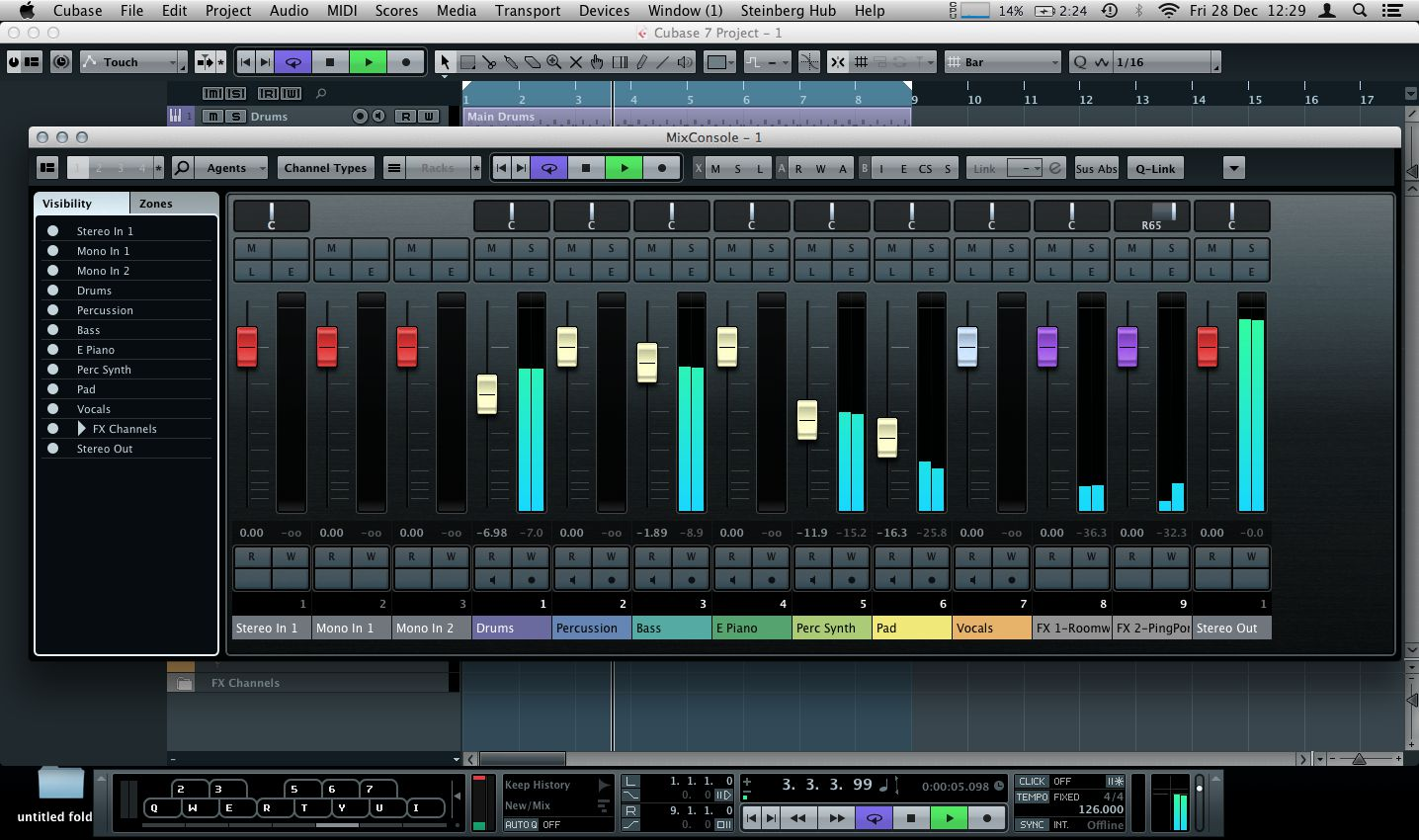 Cubase 7 Mixconsole Features Ask Audio