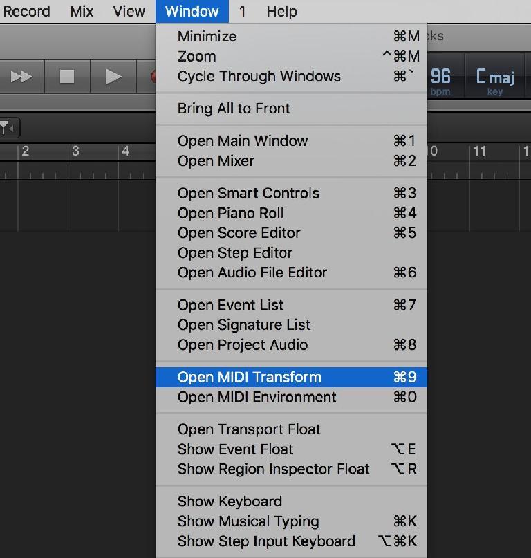 Open MIDI Transform