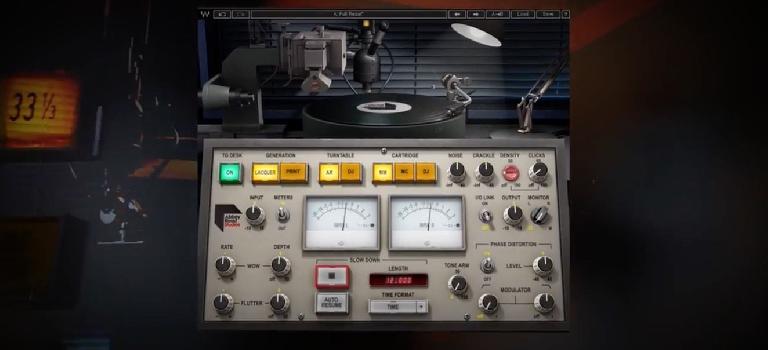 Waves Audio Abbey Road Vinyl Plugin