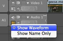 Show waveform