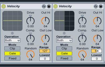 Velocity MIDI Effects