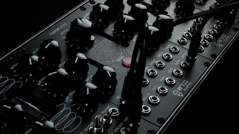 Erica Synths Fusion II close up photo