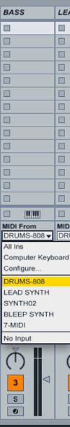 The 808 Drum channel