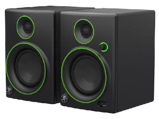 The new Mackie CR4 monitors.