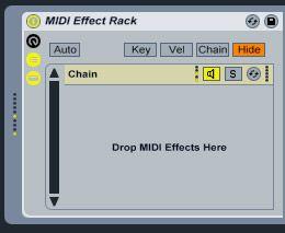 MIDI Effect Rack